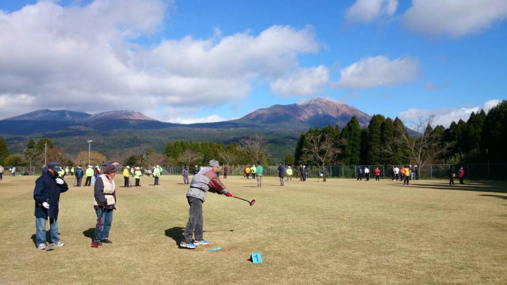 第13回霧島さんろくグラウンド・ゴルフ大会を開催しています