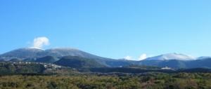 霧島連山 初冠雪