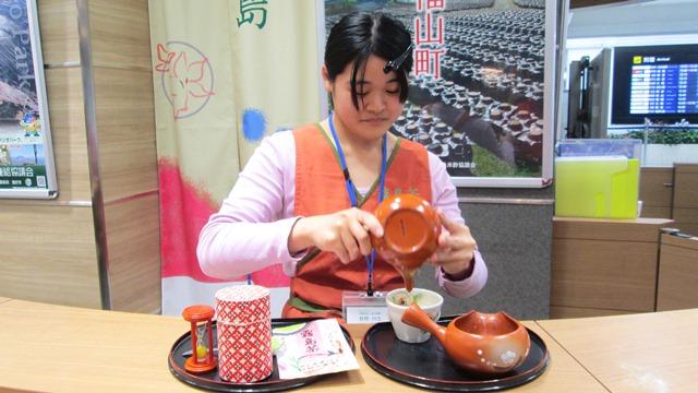 お茶屋さんと淹れる霧島茶