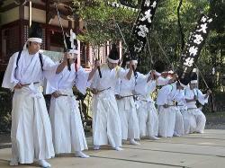 第18回南九州神楽まつり出演団体 入来神舞(いりきかんまい)