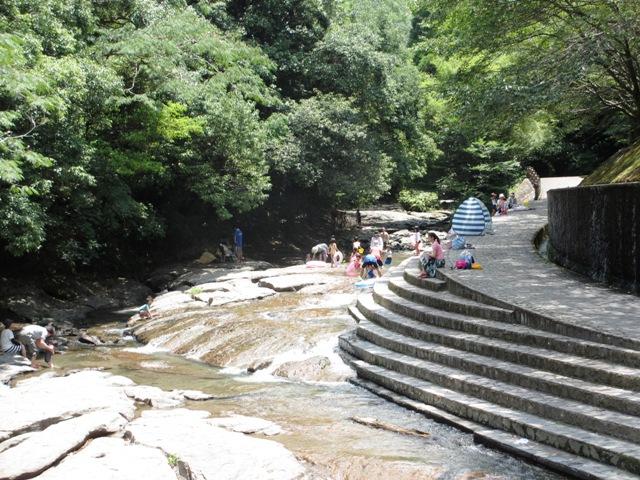 台明寺渓谷公園