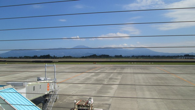 鹿児島空港展望デッキから