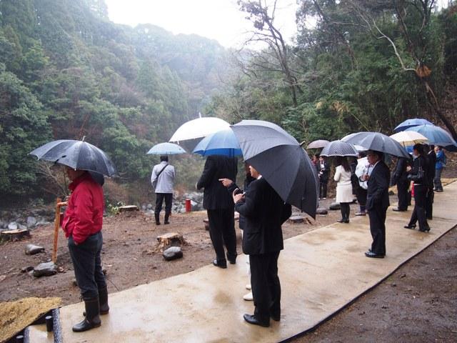 霧島神水峡遊歩道がオープンしました