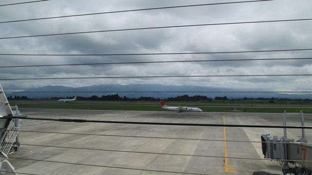 空港デッキから、、、