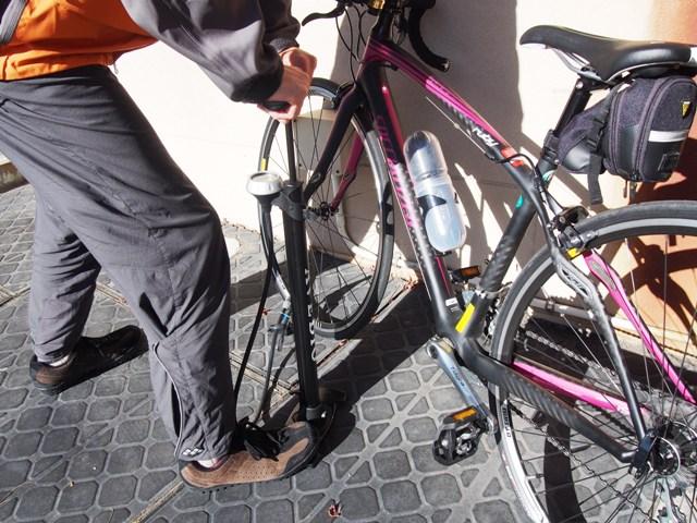 自転車のお客さま