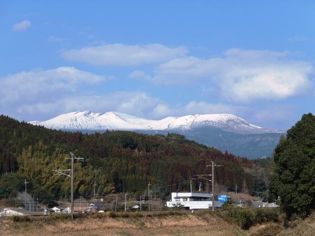 雪の霧島連山 2014.2.12