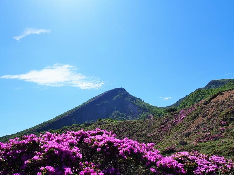 初夏の韓国岳へ登ってきました^^*