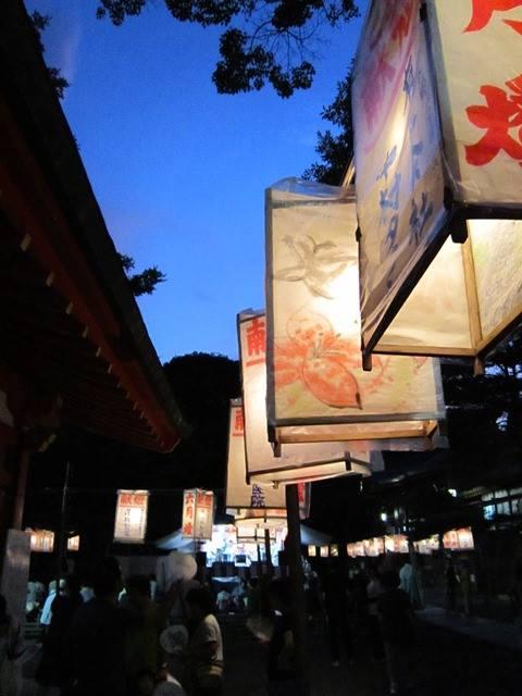 鹿児島神宮献灯祭