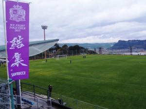 スポーツキャンプシーズン突入☆サンフレッチェ広島の練習を見てきました?