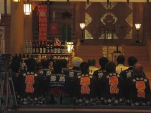 霧島温泉感謝祭・清め祓い式。
