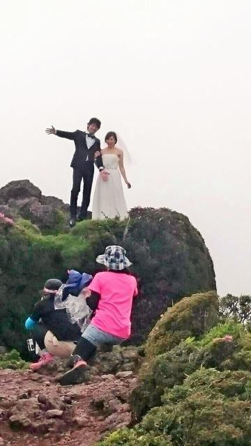 韓国岳の花嫁