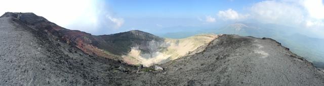 夏の霧島山