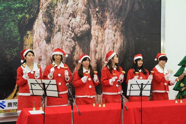 空港でもクリスマス