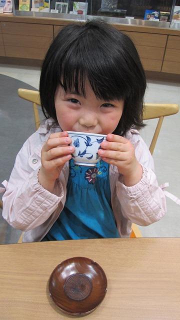 摘みたての新茶をご賞味下さい♡