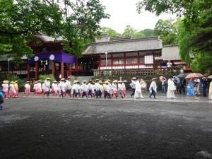 鹿児島神宮 斎田祭に行ってきました。