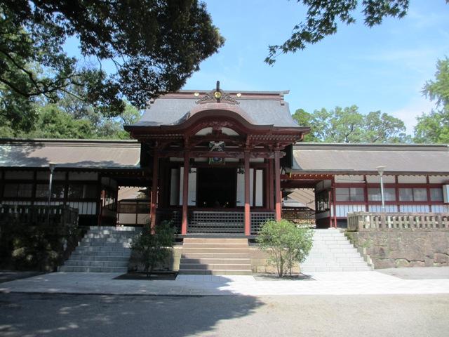 初秋の鹿児島神宮
