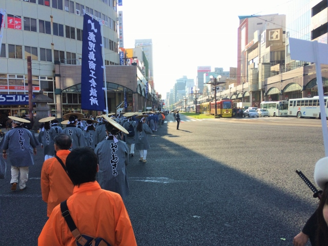 明治維新150年パレードに参加しました☆