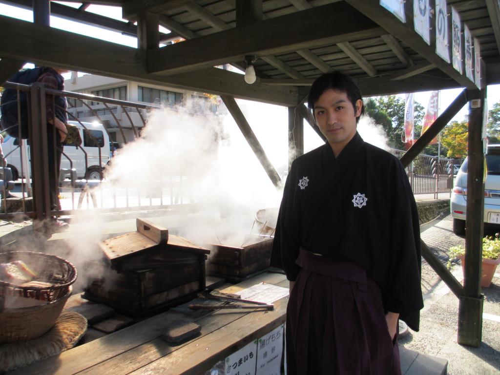 霧島温泉市場に龍馬さんがやってきました!