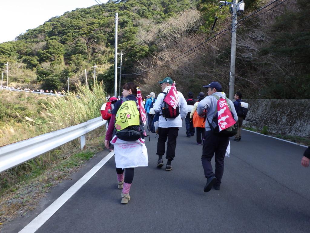 第5回南さつま海動「鑑真の道歩き」に霧島ハネムーンウォークPR隊で参加しました!