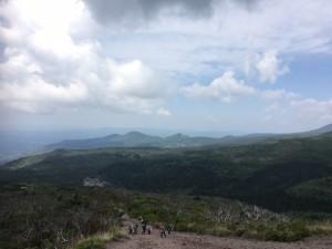 登ってきました♪高千穂峰