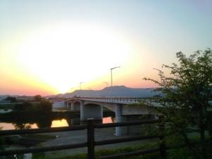 しらさぎ橋から