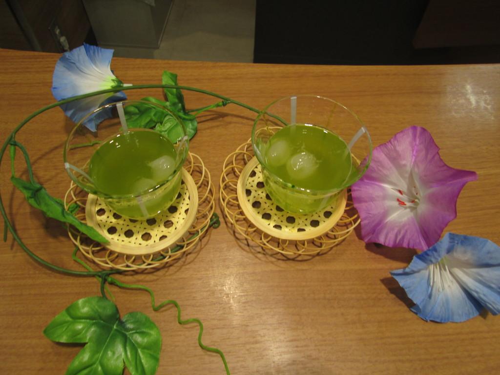 暑い夏🌻には冷たい霧島茶を🍃