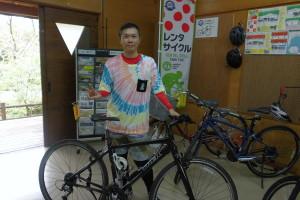 爽やかなサイクルニストさん