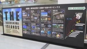 鹿児島の島々PRパネル展示