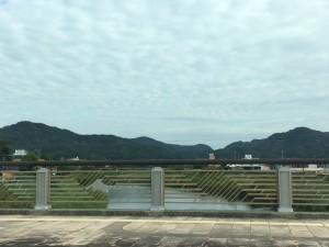 侏儒どん橋と天降川