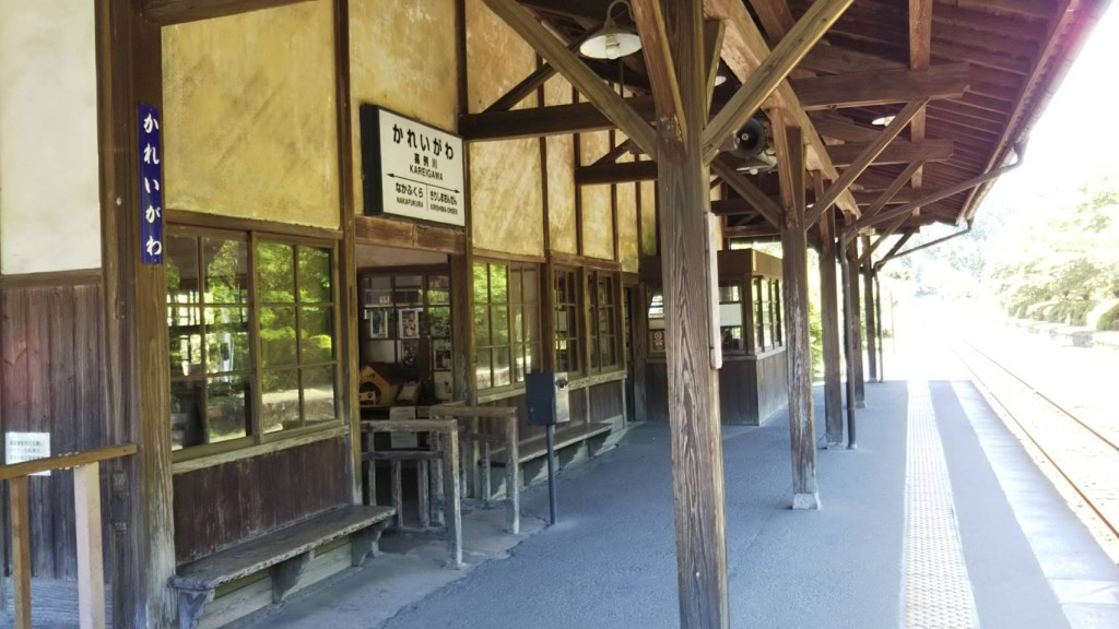 歴史ある木造駅舎