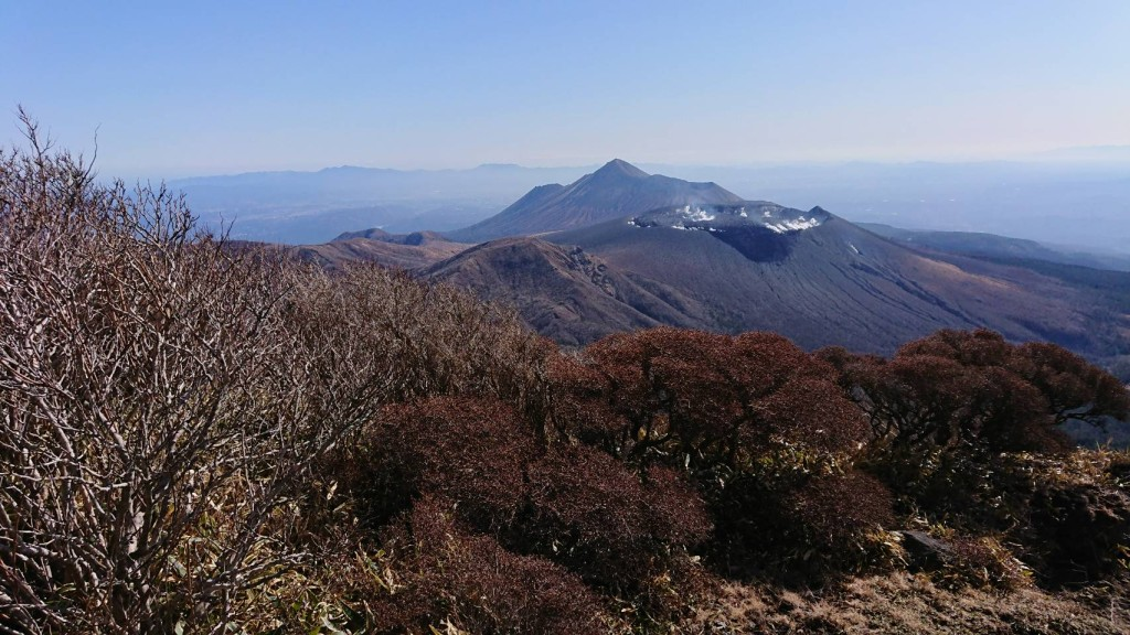 冬の霧島連山 2019