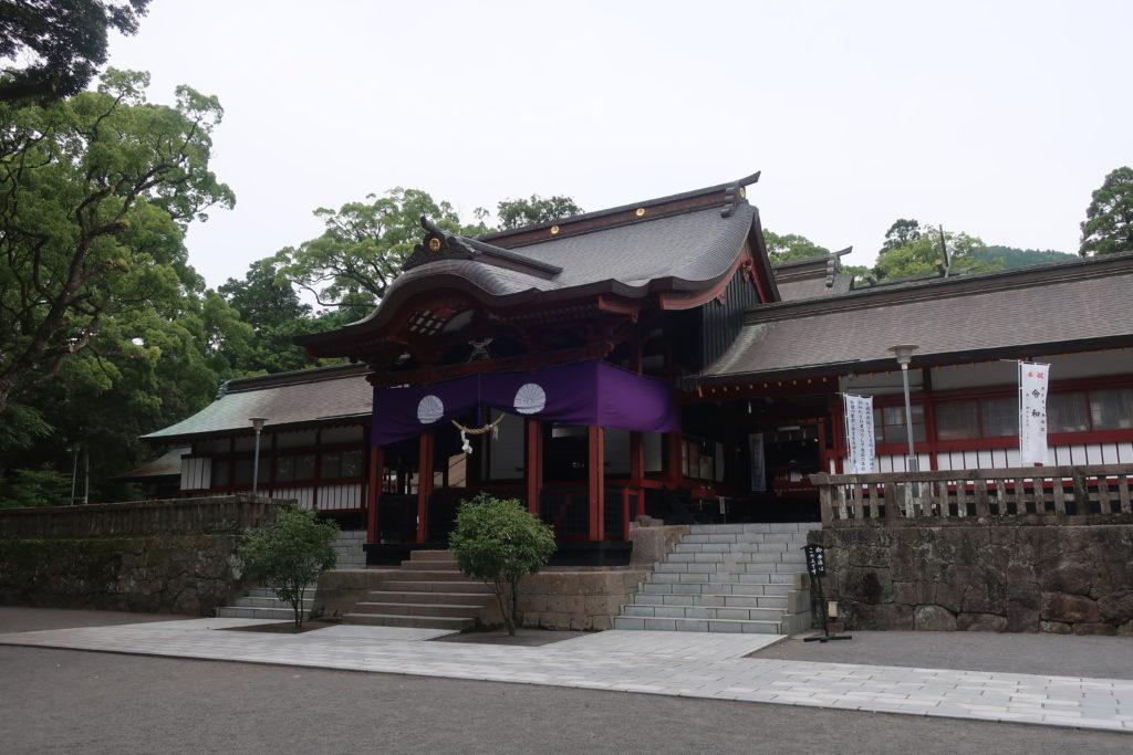 鹿児島神宮へ