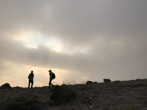 ナイトトレッキングの下見登山へ🌕