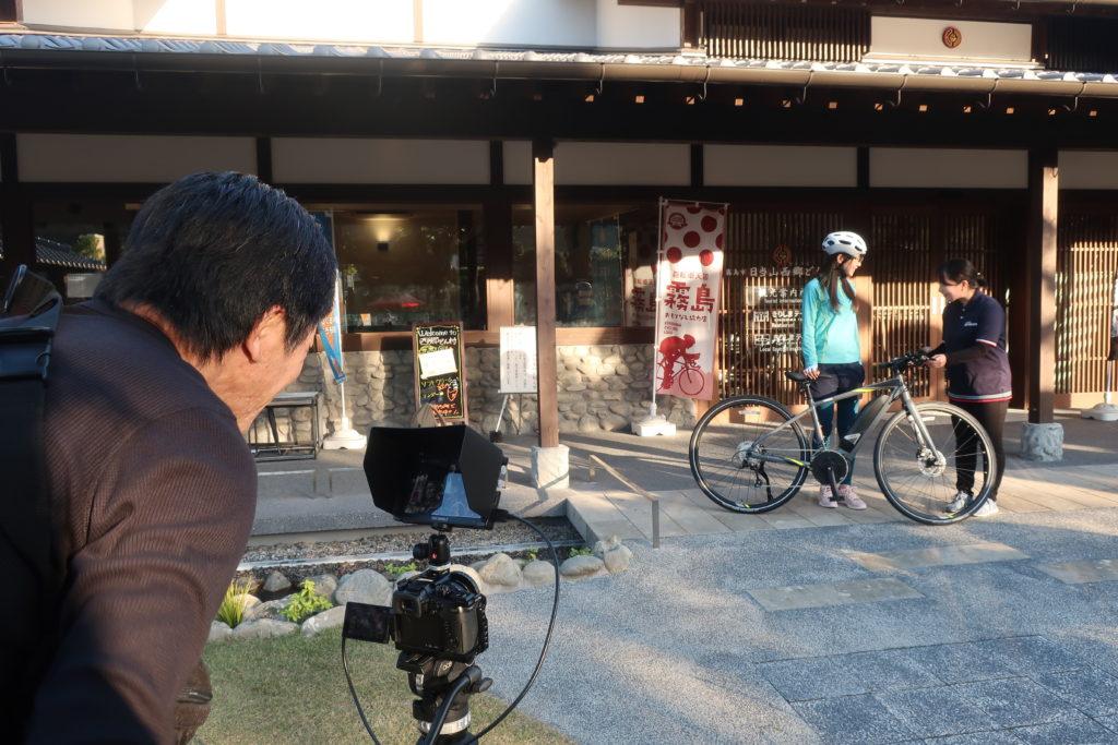 YAMAHA-YPJ CYCLE TOURISM 鹿児島編の撮影がありました!