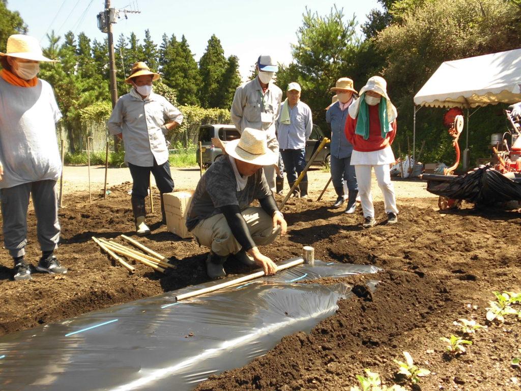 土づくりのワークショップ開催いたしました!