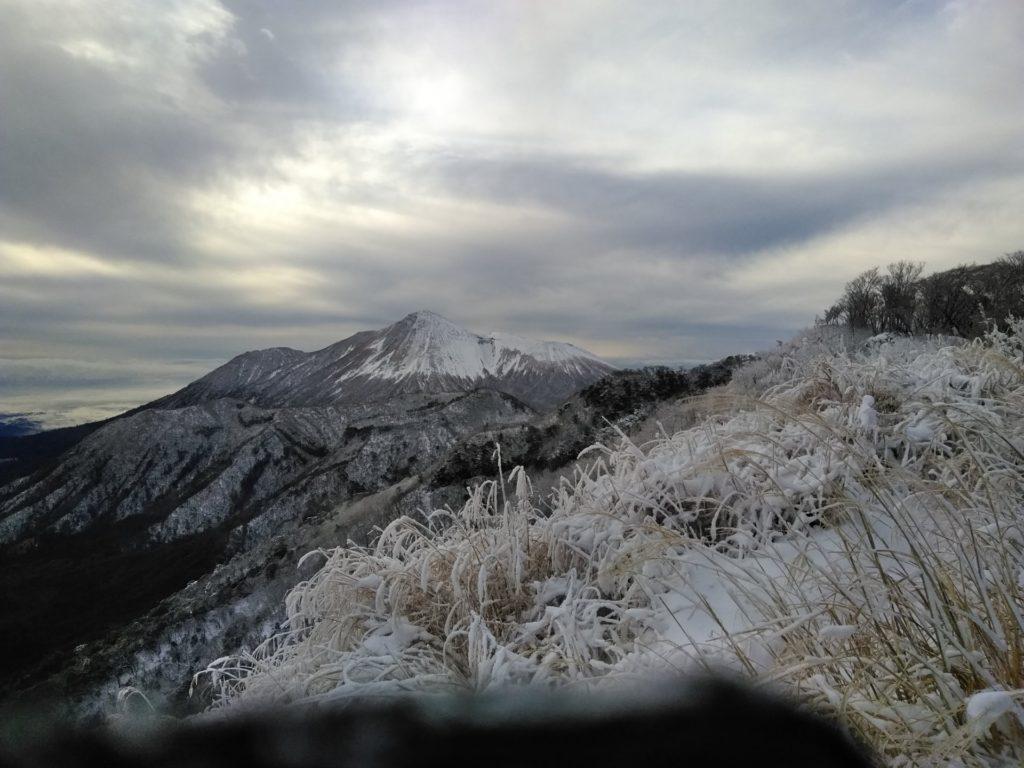 霧島大幡山の雪と氷瀑