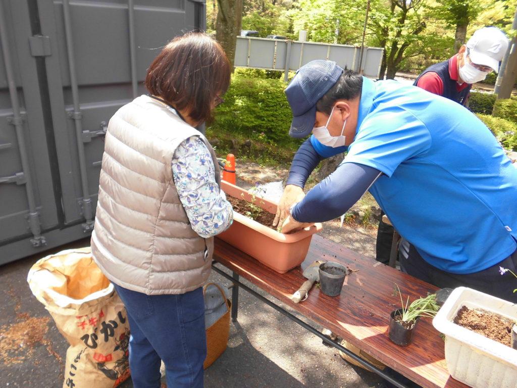 キリシマコミュニティガーデン開催しました。