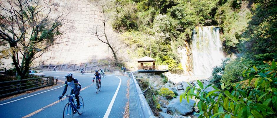 自転車天国丸尾の滝