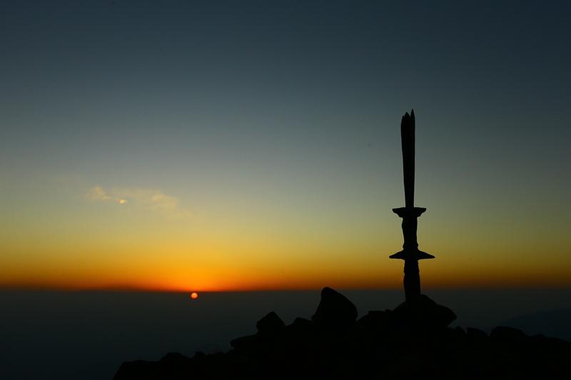 高千穂峰アーベントロート