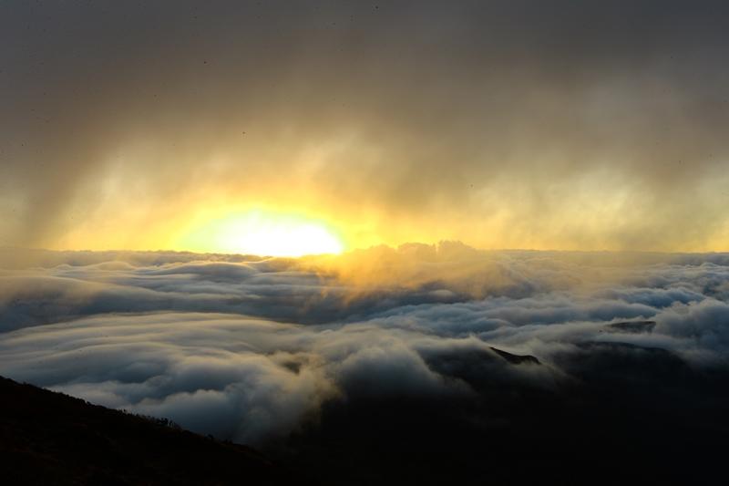 雨上がりの霧島
