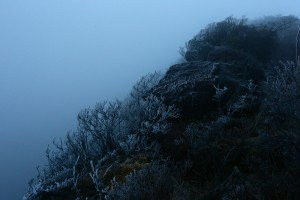 強風の霧島