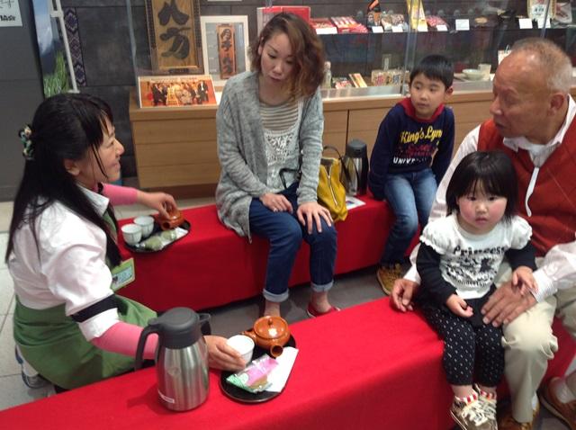 新茶キャンペーン「100円茶屋」