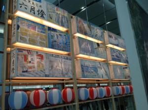 六月燈の飾り!!