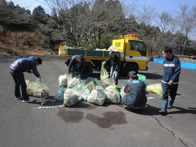 小春日和に 国道223号線清掃活動実施