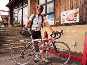 自転車で湯めぐり☆