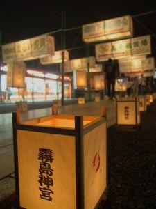 霧島神宮献燈祭☆