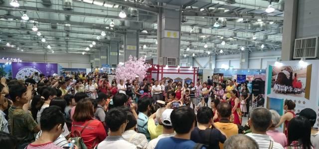 台湾でのイベント「新・日本旅遊節」に、霧島チームも参加しました☆