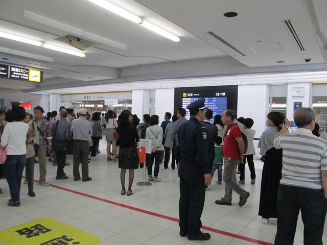 鹿児島空港…大賑わい!