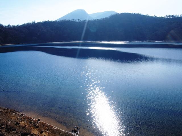 えびの高原 冬の三湖めぐり