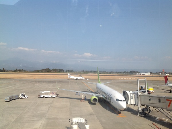 今日の鹿児島空港(*^_^*)